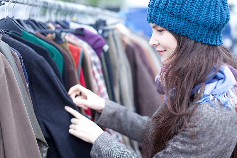 Barely used and well-preserved clothes can find new owners through Second-Hand shops.