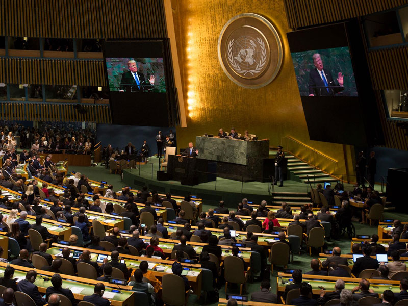 Environmental Protection as a Topic of a UN Assembly